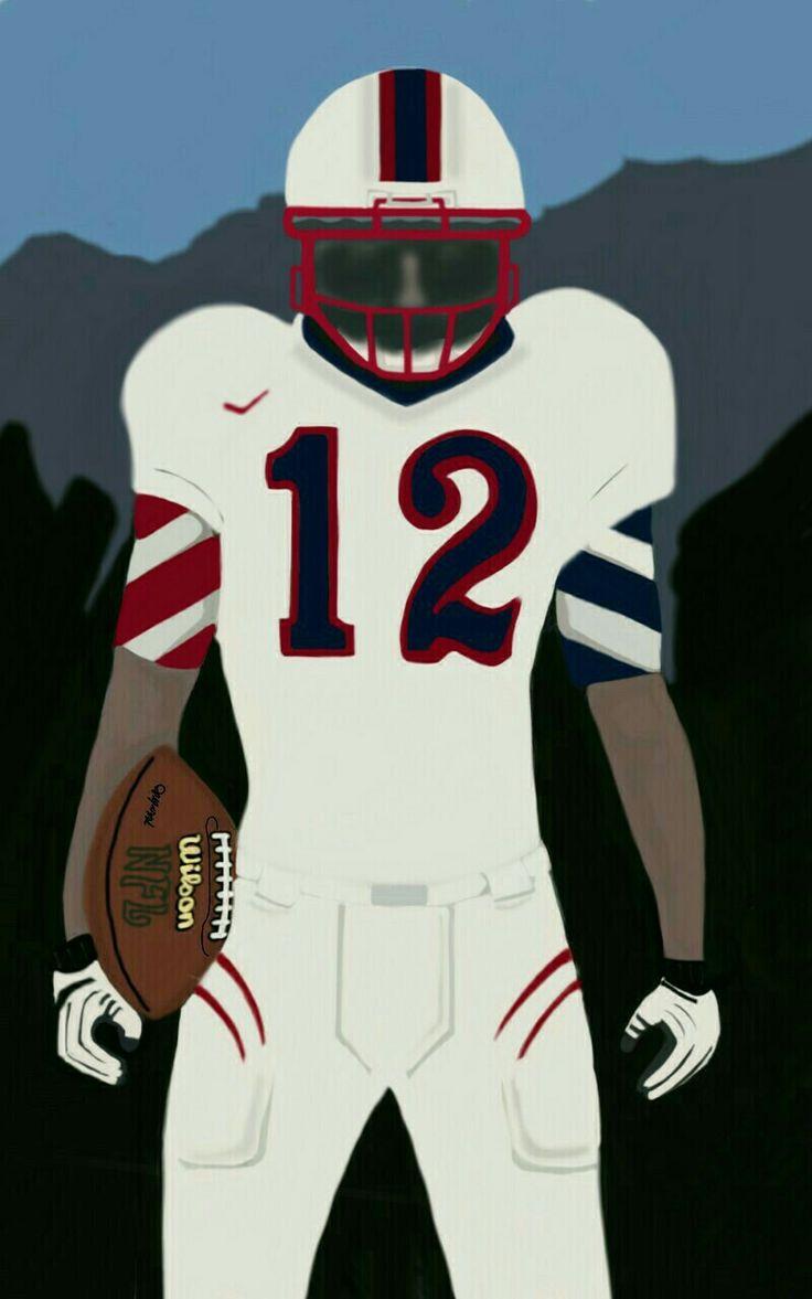 My art,american football
