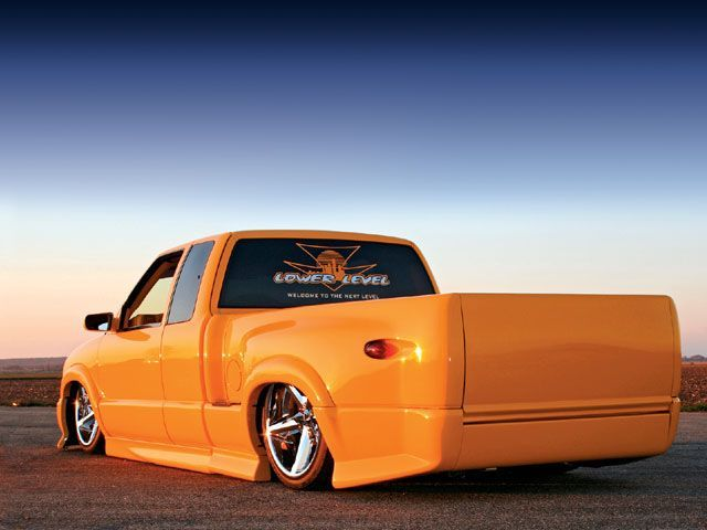 2003 Chevy S10 Xtreme rear View