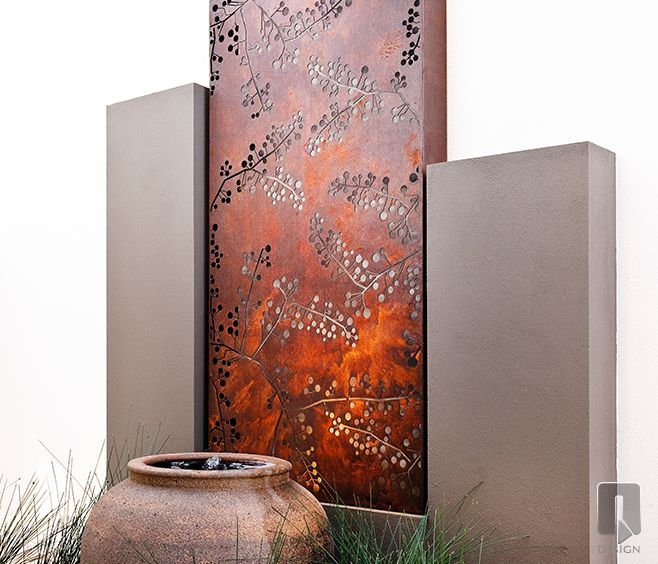 Wattle | Metal Laser Cut Screens | Outdoor Screens and Screening | Wall Features | WaterGarden Warehouse, Perth, Western Australia.