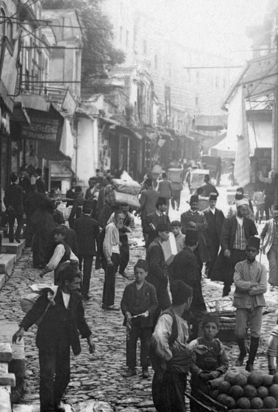 Ottoman Istanbul from 1900's: