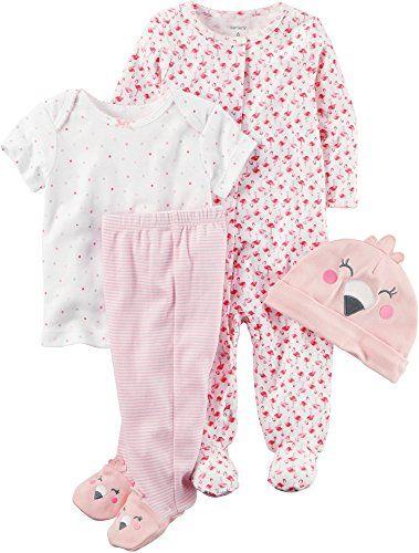 e697415d0 Carters Baby Girls MultiPc Sets 126g582 Pink Newborn Baby     Click ...