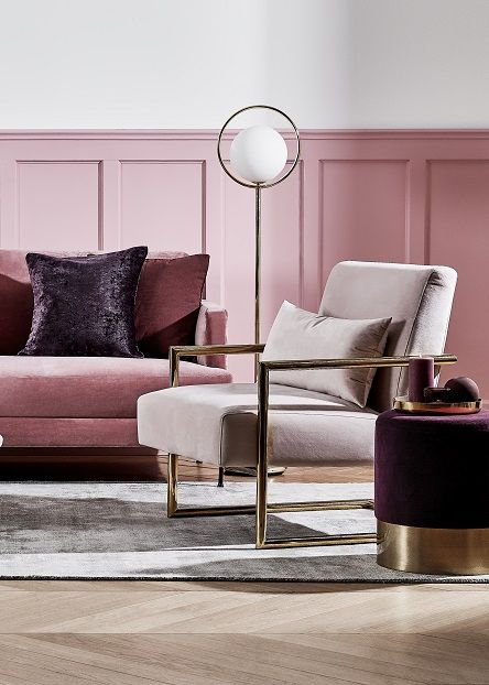 Die besten 25+ Rosa wohnzimmer Ideen auf Pinterest rosa - wohnzimmer braun rosa