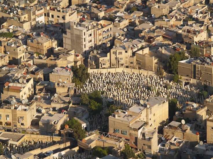 Damascus - cemetery