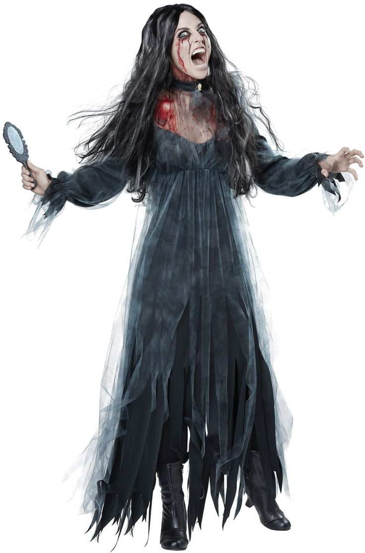 bloody mary adult costume all time favorites pinterest scariest halloween costumes scary. Black Bedroom Furniture Sets. Home Design Ideas