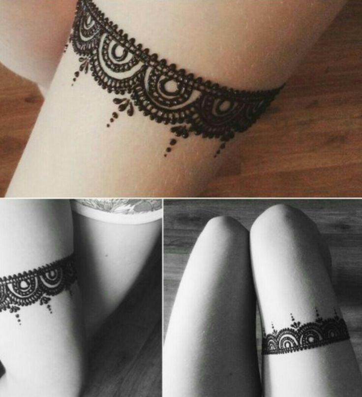 Lace henna design, so beautiful