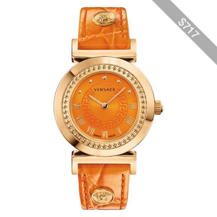 Versace Versace: Vanity Women's Orange Watch (391193201)