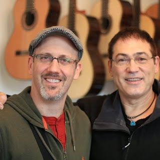 Adam Rafferty and Don Alder @ Siccas Guitars