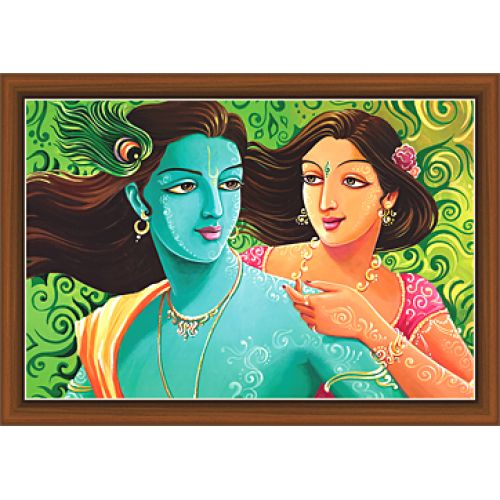 Radha Krishna Paintings (RK-9300)
