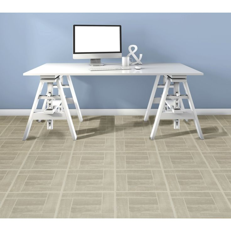 ACHIM Tivoli Saddlewood 12x12 Self Adhesive Floor Tile - 45 Tiles/45 sq Ft.