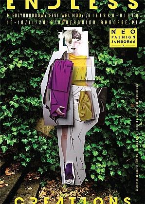 NEO FASHION JAMBOREE 2,  poster by Karolina Piech