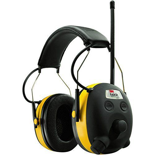 PELTOR WORKTUNES Digital AM FM MP3 Radio HEADPHONES Hearing PROTECTION Ear Muffs by The ROP Shop