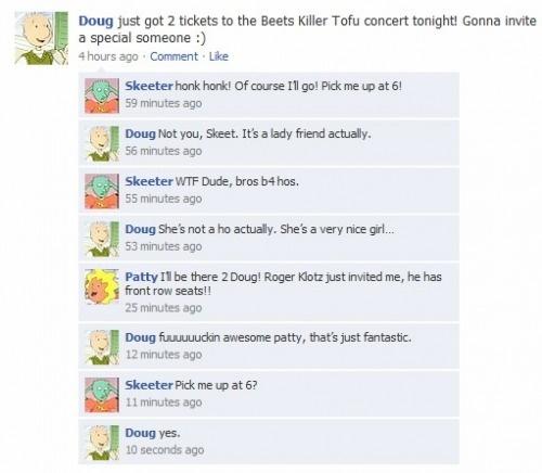 Poor Doug.