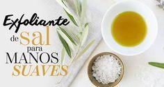 Exfoliante de sal para manos suaves   The Beauty Effect