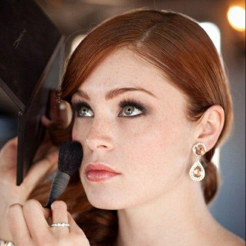 Redhead Wedding Makeup | Lydia U0026 Jacku0026#39;s Wedding | Pinterest