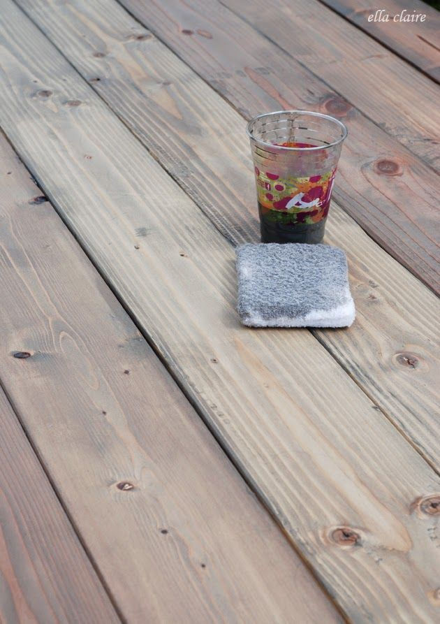 Wonderful The BEST Formula For Warm Gray Stain