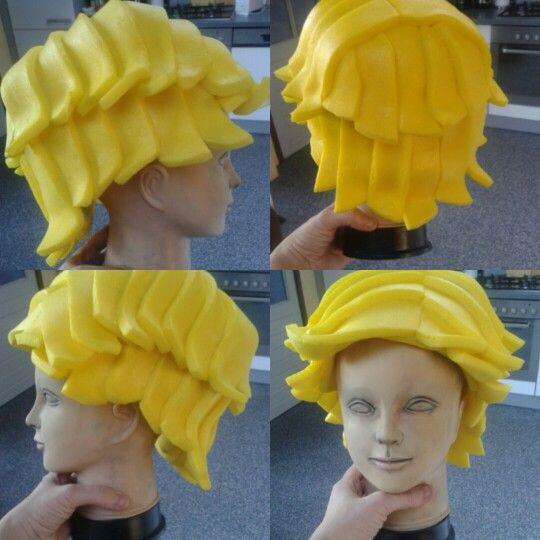 Foam wig men