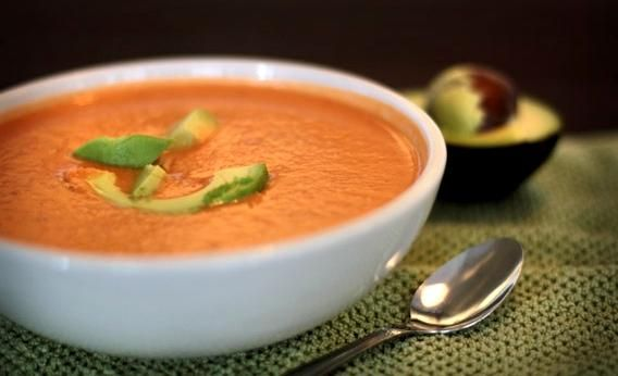 GazpachoGazpacho Recipe, Almond, Black Beans, Authentic Gazpacho, Summer Meals, Dinner Menu, Tomatoes Smoothie, Tomatoes Juice, Gazpacho Soup
