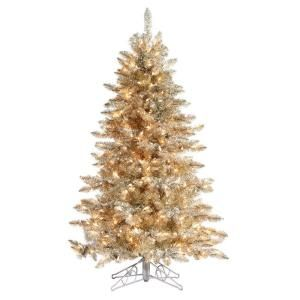 sterling inc 5 ft pre lit platinum frasier fir artificial christmas tree with - Sterling Christmas Trees