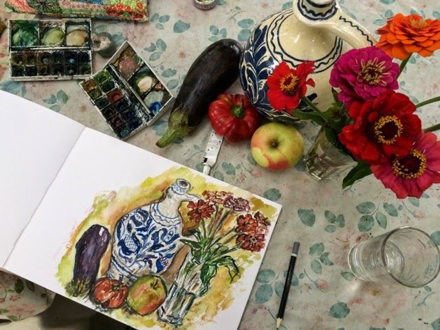 Have Watercolors Will Travel: Seasons
