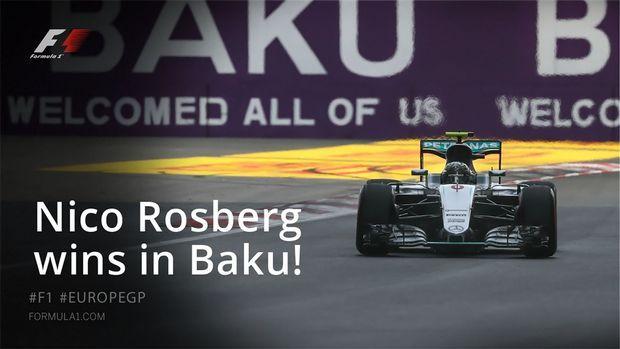 F1 GP Ευρώπης - RACE: Πρώτος των πρώτων ο Rosberg - Formula 1 - SPORT 24