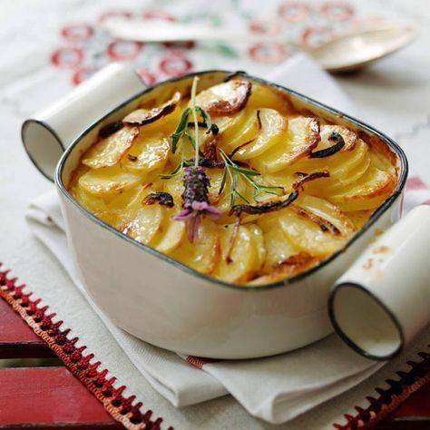 Krämig och enkel potatisgratäng