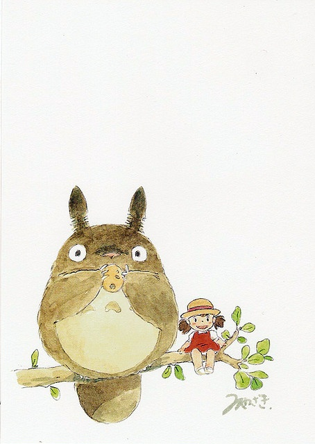 Totoro is so so so so so so cute