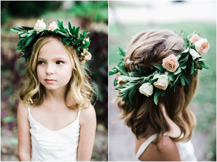 Flower Girl - Bonnet House Wedding Florals - Coastal Blossoms www.chelseaerwin.com #florals #flowergirl #flowercrown #coastalblossoms #weddingday #bonnethouse