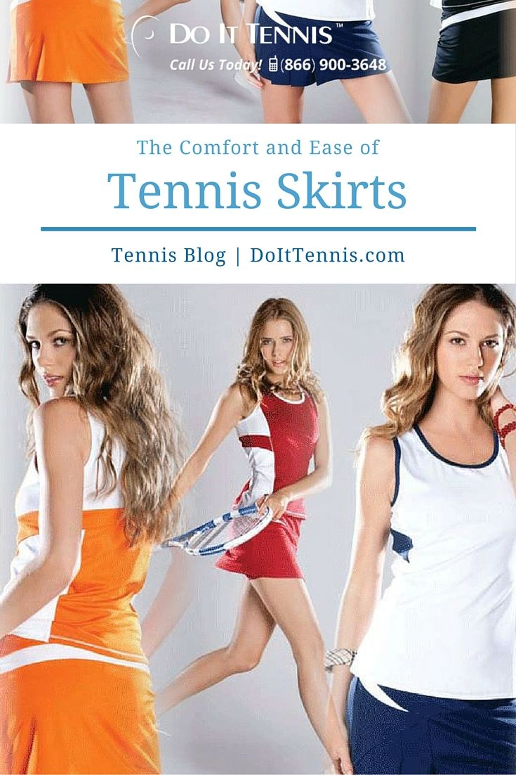 Tennis skirts are both convenient and comfortable. If you are looking for fun, flirty and functional, these tennis skirts need to be on your summer wish list.