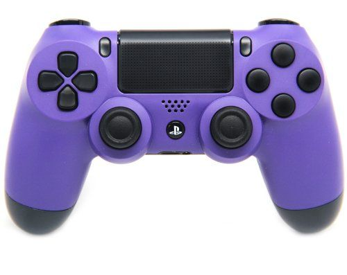 "This is our ""Matte Purple"" PlayStation 4 Modded Controller. It is a perfect gift for a special gamer in your life. Order yours today at: http://moddedzone.com/ You can also visit our eBay store at: http://stores.ebay.com/moddedzone/"