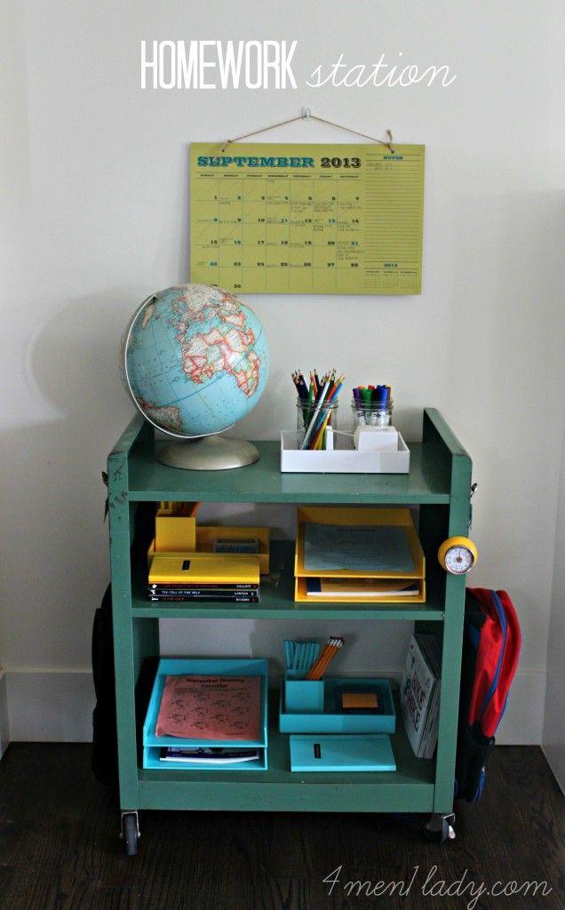 Over The Door Homework Organizer Middle School - image 2