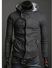 Prendas de abrigo Negro para hombre de la ch... – USD $ 20.99