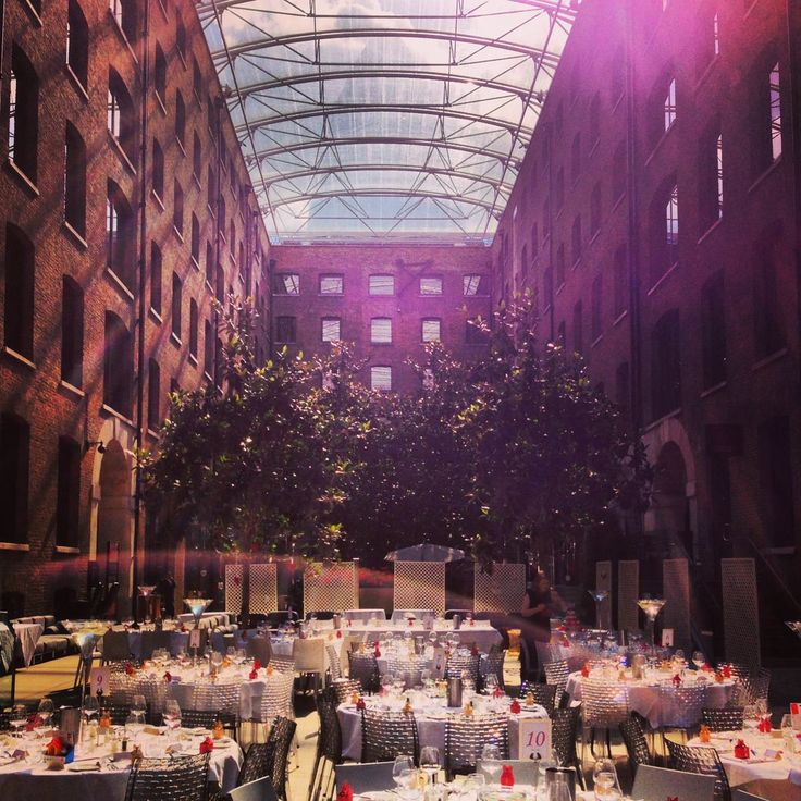 What A Stunning Location To Hold Your Wedding Breakfast In The Devonshire Terrace Venue London Is Always Flooded With Natural Light