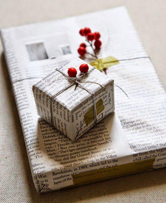 Manualidades: Cómo envolver un regalo sin papel de regalo