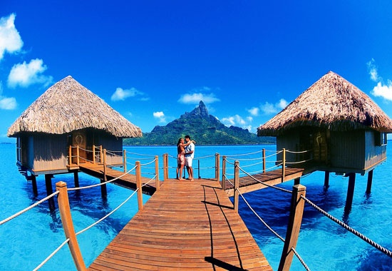 Sean and I want to stay in an over water bungalow for our honeymoon