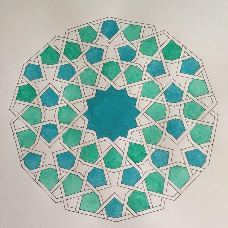Islamic pattern                                                                                                                                                                                 Mehr