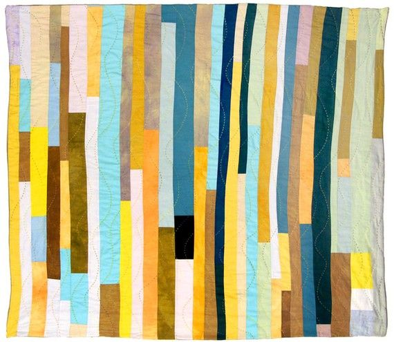 Loving this Denyse Schmidt quilt (for when I get serious about sewing again)