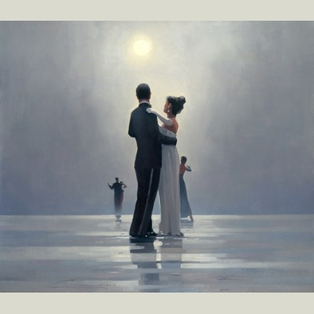 Have this picture hanging!  Dance me to the end of love - Jack Vettriano, my favourite painting and artist