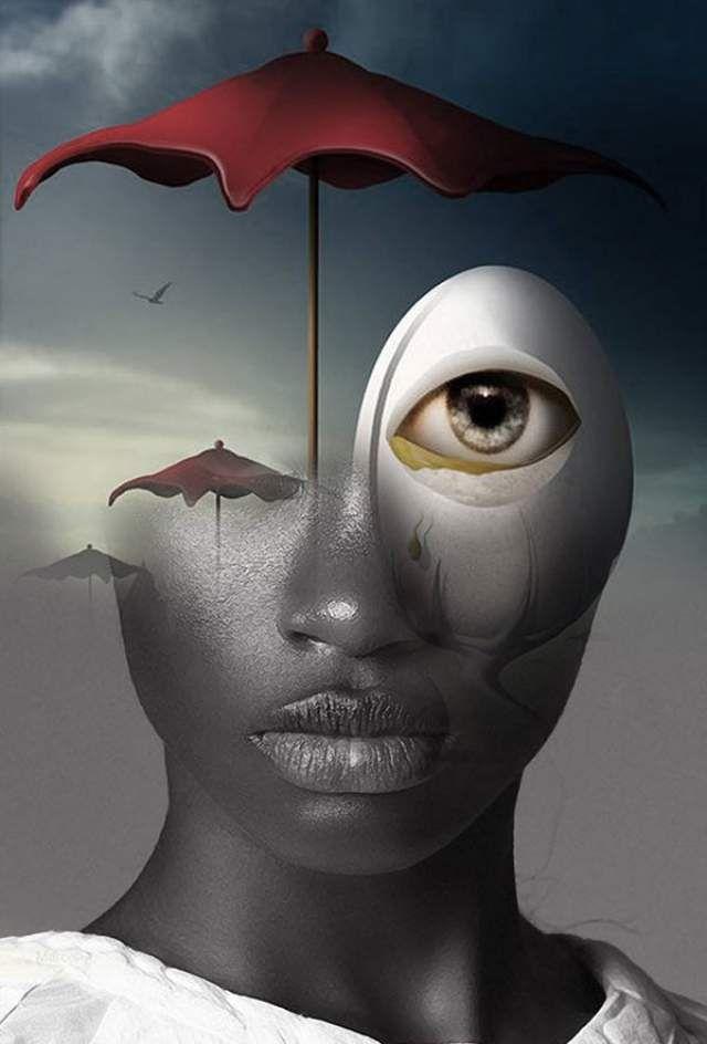 antonio mora | Double Exposure Portraits by Antonio Mora | e MORFES