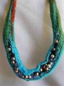 316 best images about Felted Necklaces on Pinterest ...