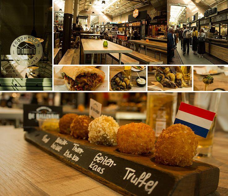 Bitterballen in Foodhallen, Amsterdam