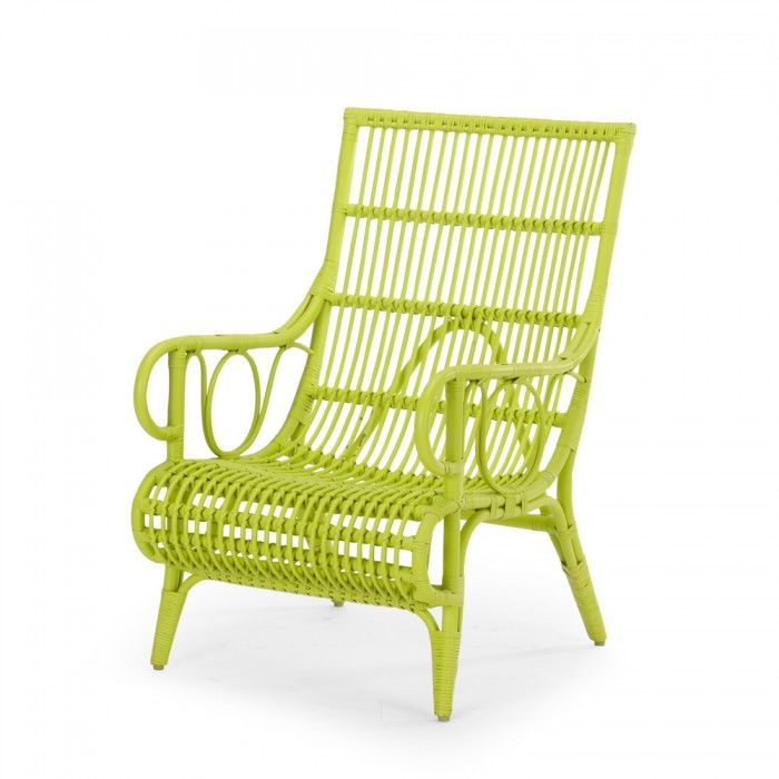Romeo Rattan Lime Chair | Rattan | Living - Me and My Trend