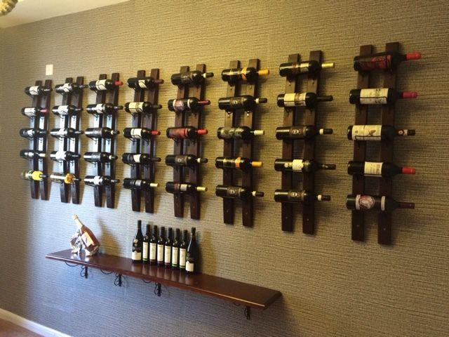 Бесплатная доставка лофт настенный настенный деревянный шкаф вина винный шкаф висит модный креативный винный бар вино