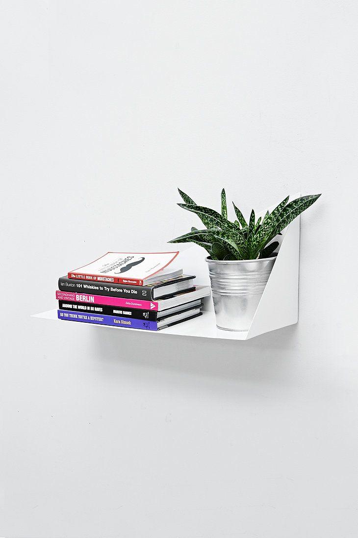 Triangle Shelf in White