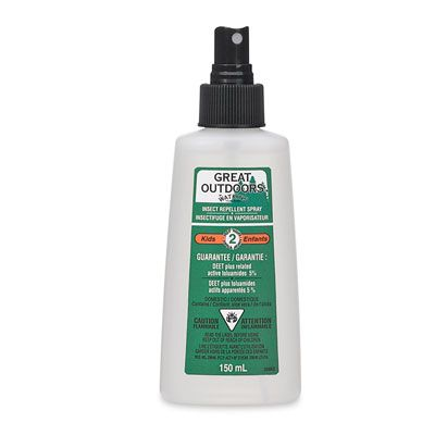 Camping gear: Essentials for camping with kids - low DEET bug spray for $10