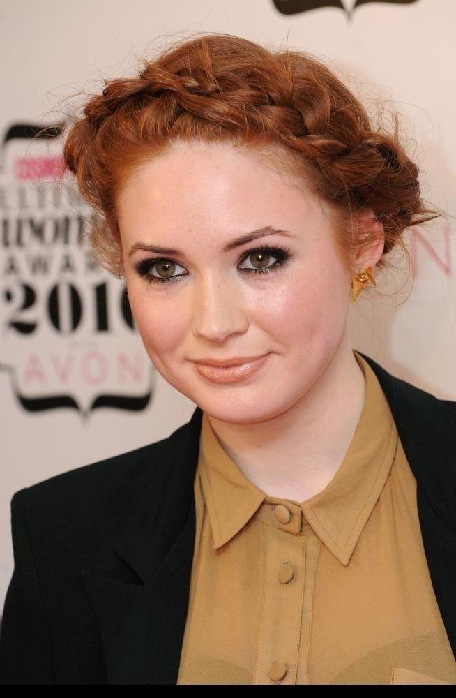 Karen Gillan 2014 Hair