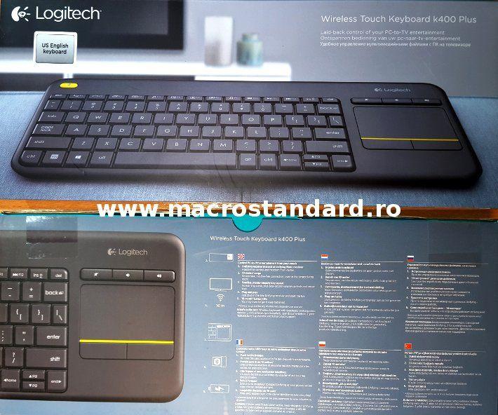Tastatura Logitech Wireless Touch K400 Plus
