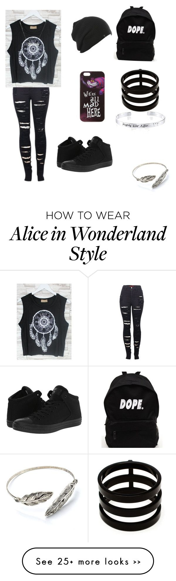 """Untitled #1"" by mirandafw on Polyvore featuring 2LUV, Converse, Disney, Adina Reyter and Repossi"