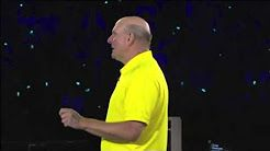 Steve Ballmer's Tearful Farewell Speech (2013) - YouTube