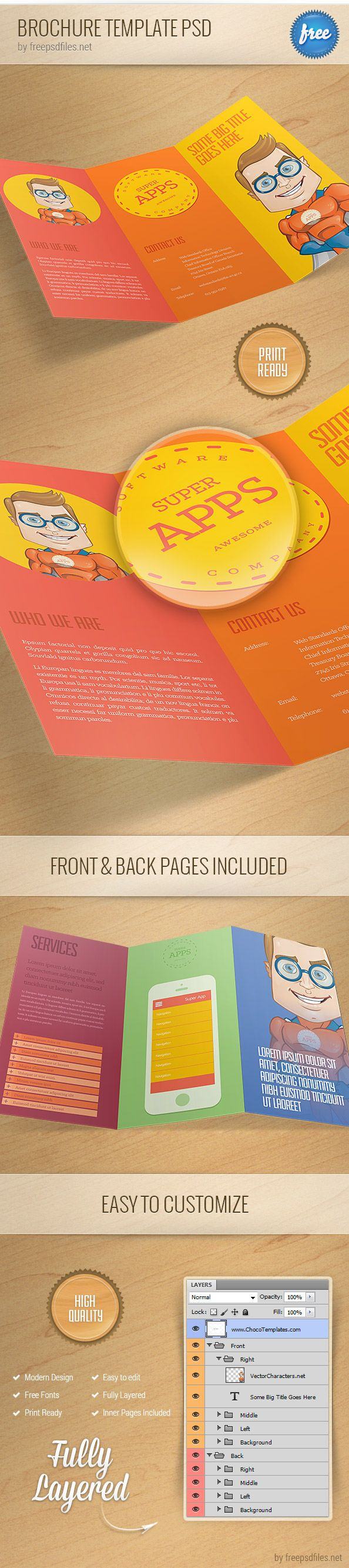 17 best ideas about brochure templates brochure template psd 1 psd files