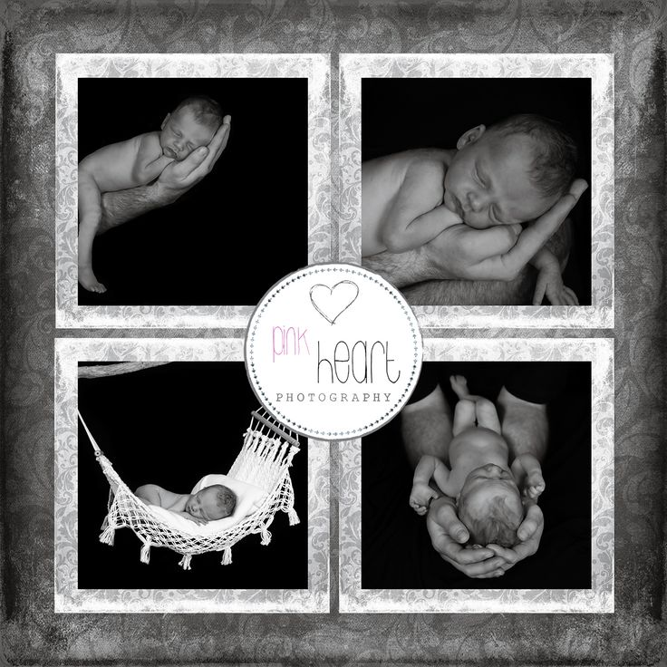 Newborn sessions are part of our babies first year program.